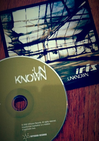 Physical CD of Iris single release Unknown